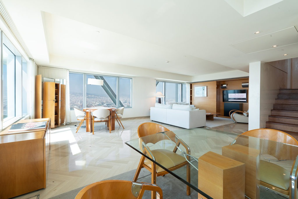Hotel Arts Barcelona Penthouse appartment