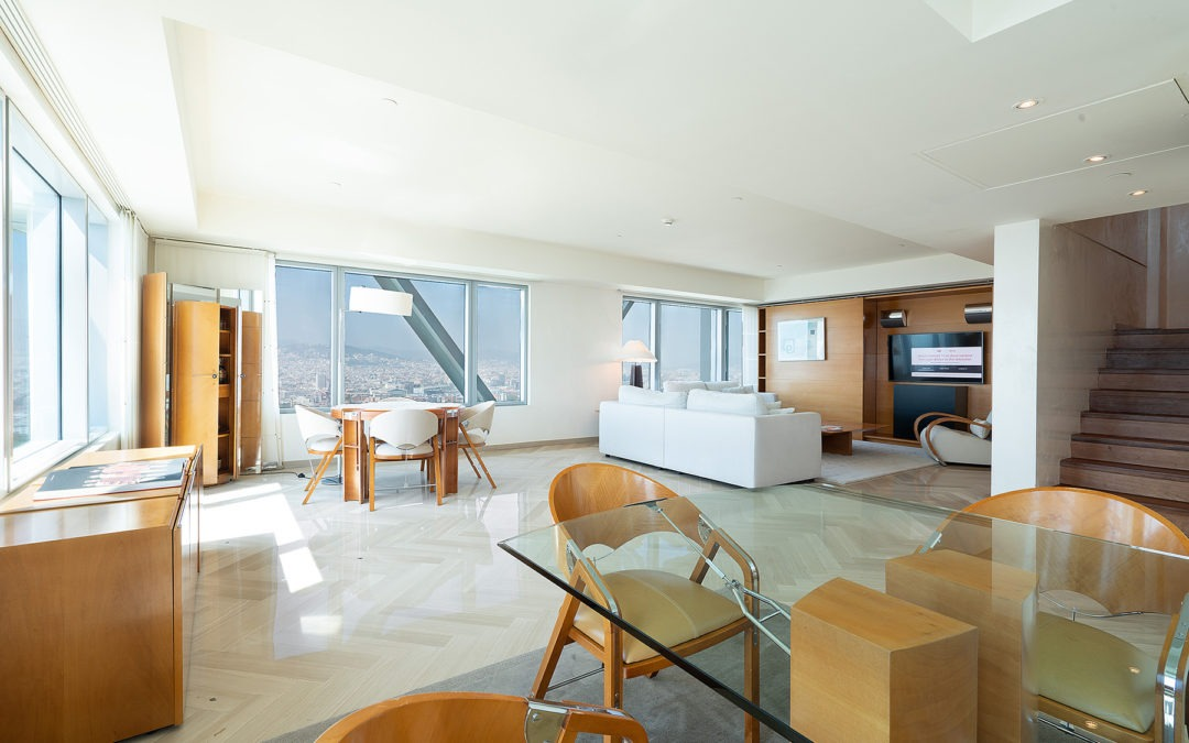 Hotel Arts – review of the 150sqm Penthouse Apartment!