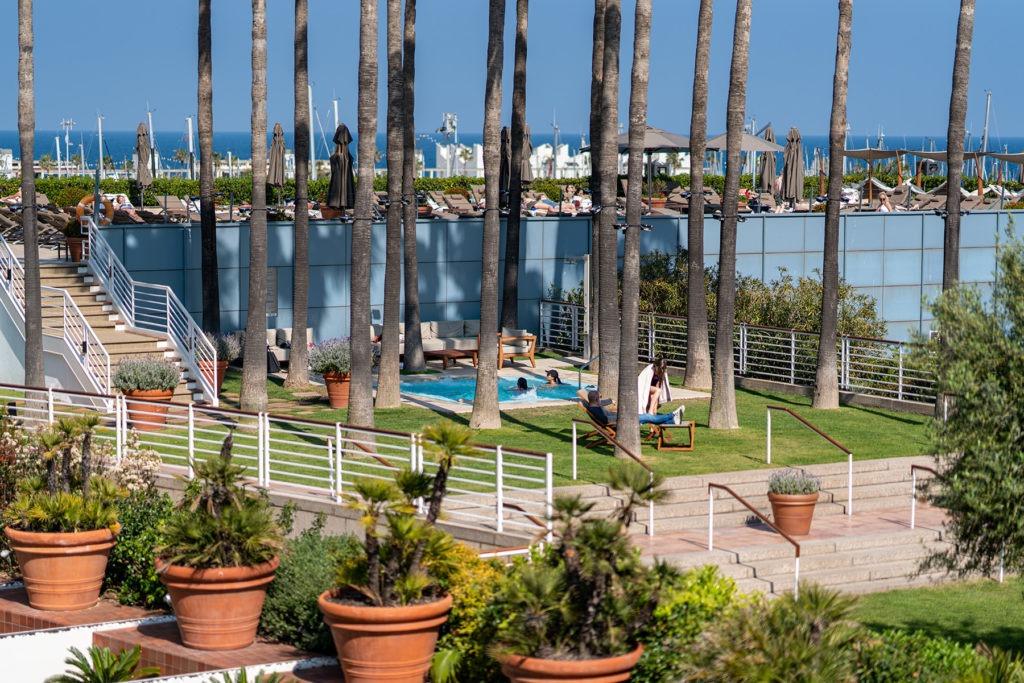 Hotel Arts Barcelona garden