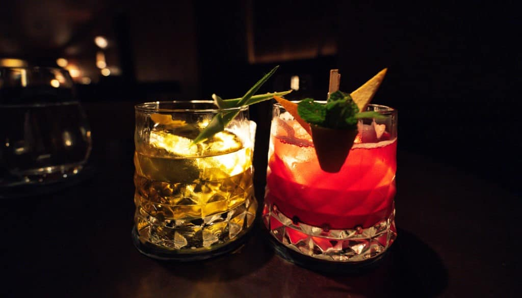 BARCELONA EDITION hotel punch bar cocktails