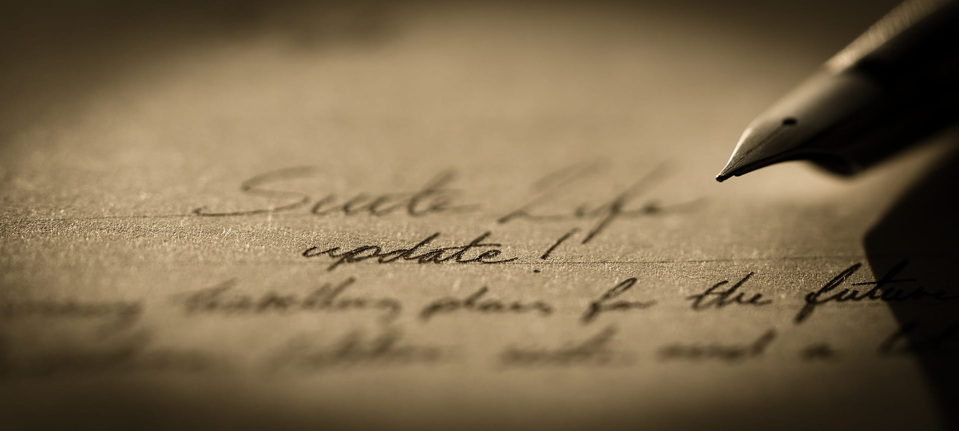 macro photograph of pen and paper