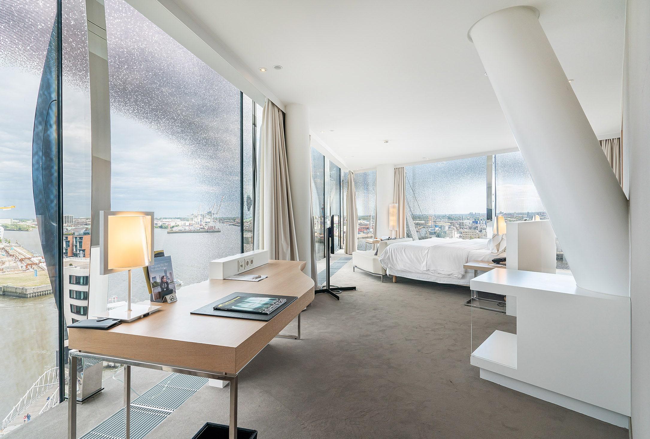 Panorama suite at the westin hamburg