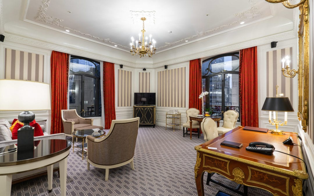 Review of the $5,500 Grand Suite at The St. Regis New York