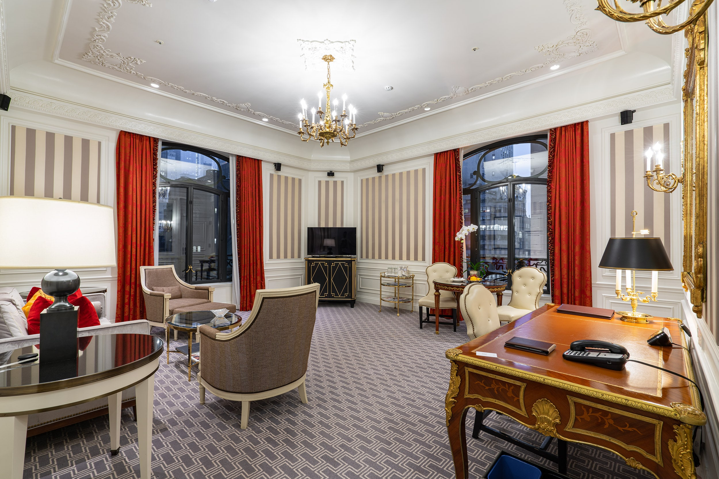 Grand Suite at The St Regis New York
