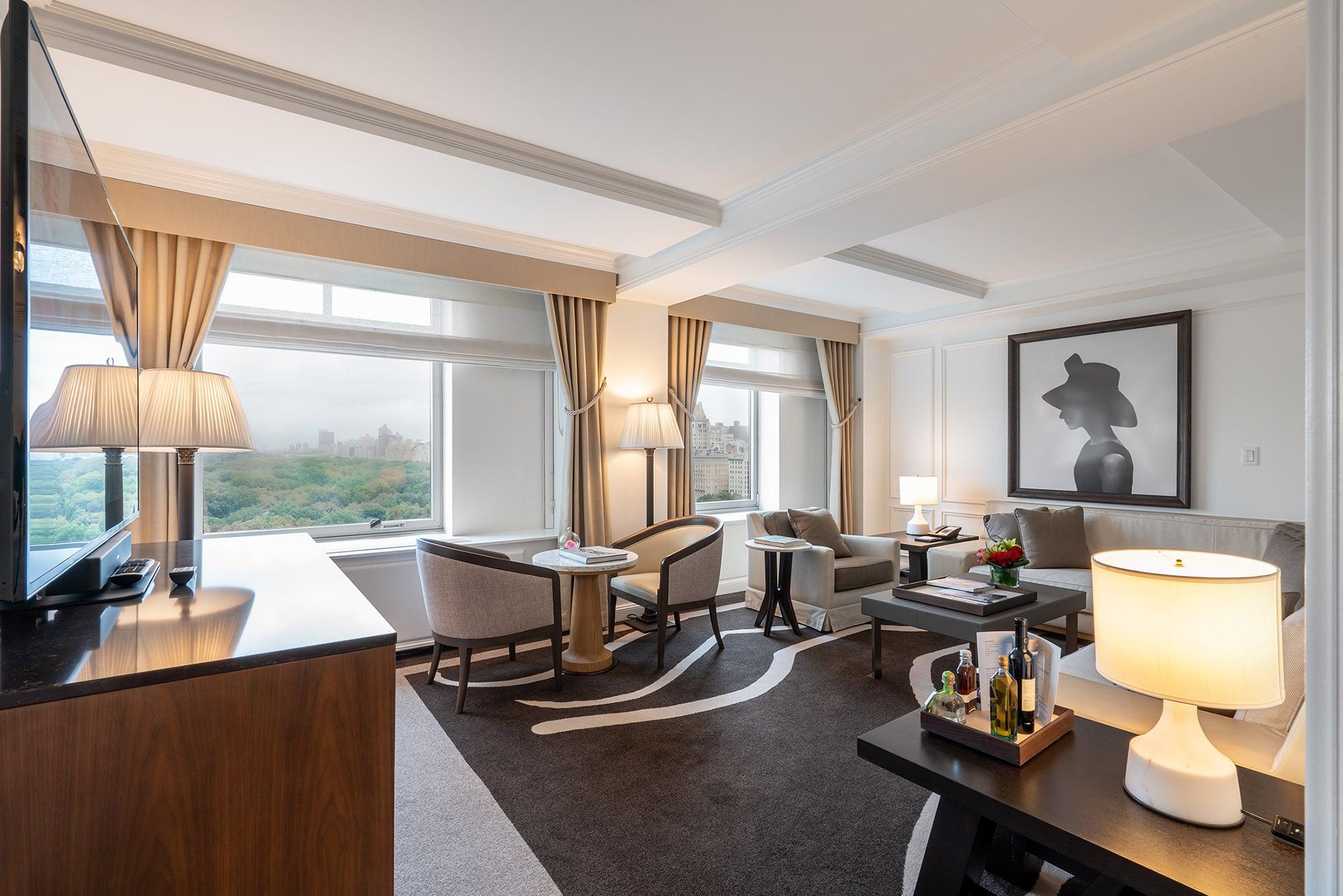Ritz-Carlton New York Central Park, Grand park view suite