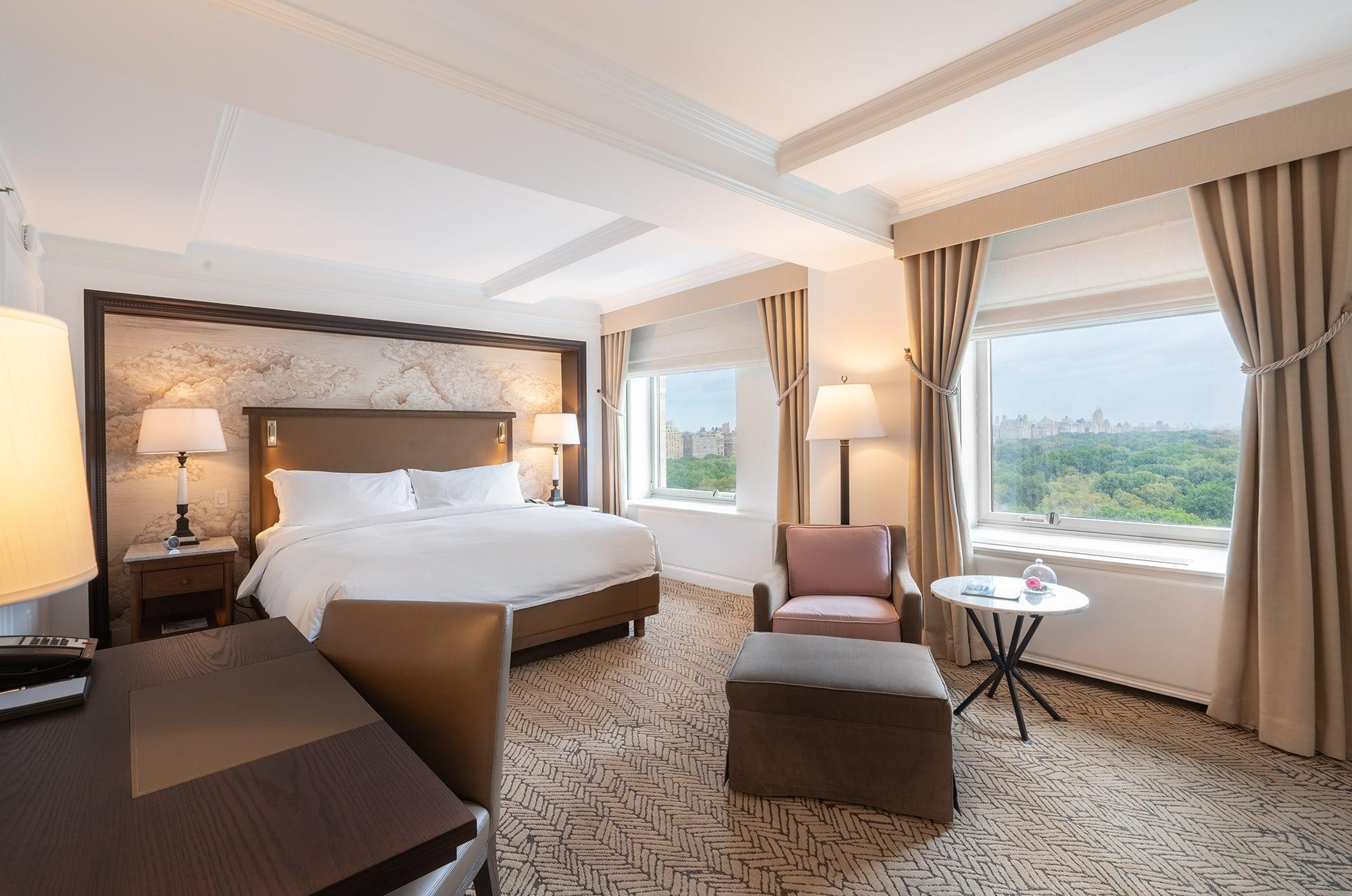 Ritz-Carlton New York Central Park, bedroom