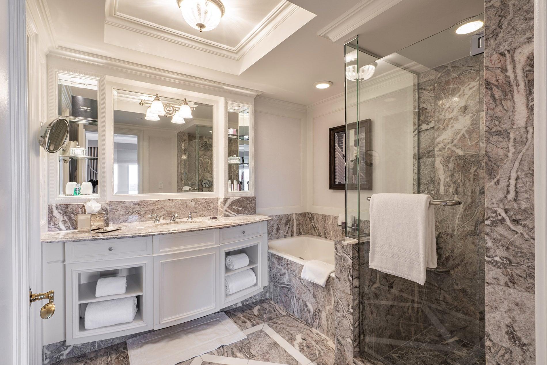 Ritz-Carlton New York Central Park, bathroom 1