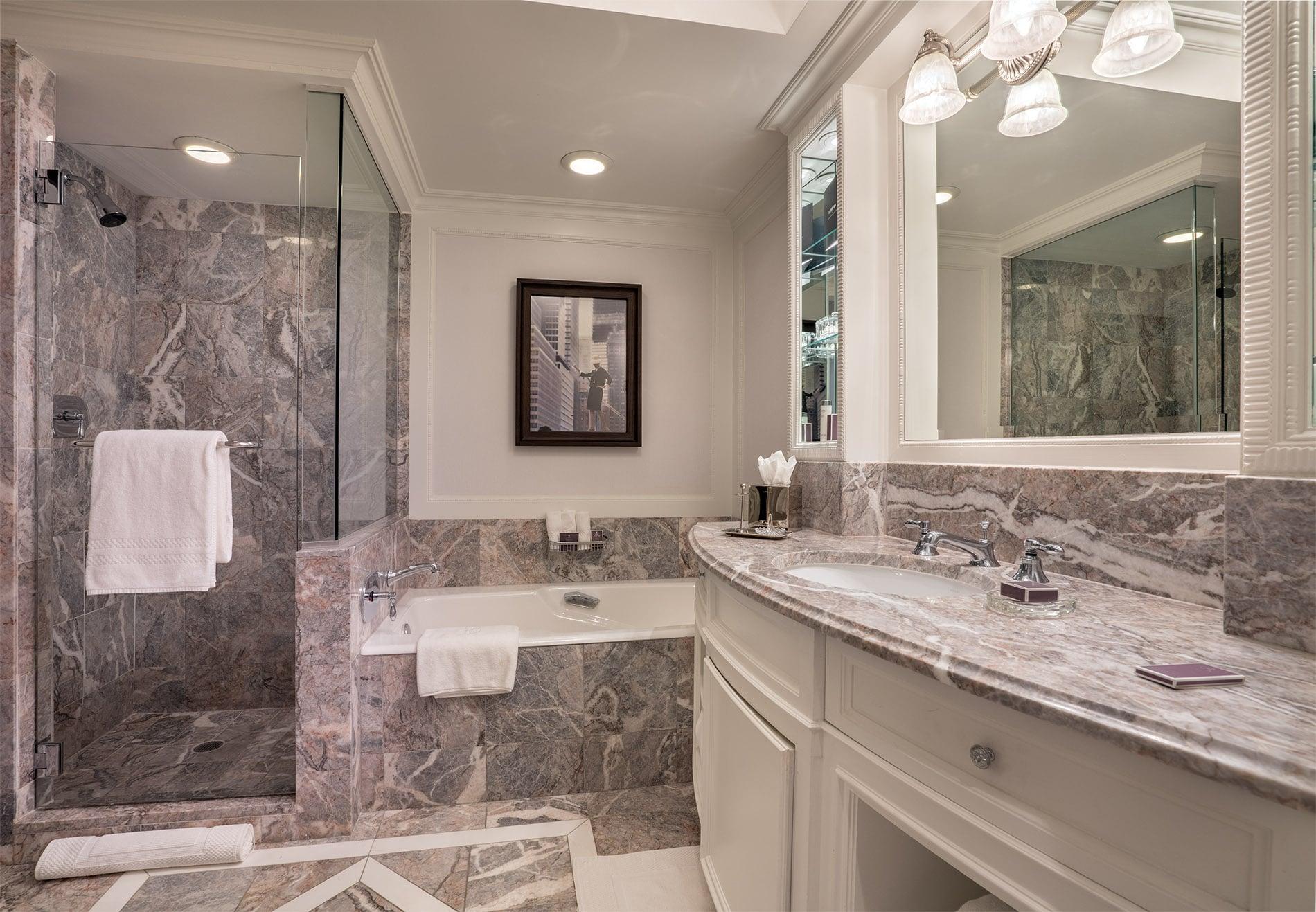 Ritz-Carlton New York Central Park, bathroom 2