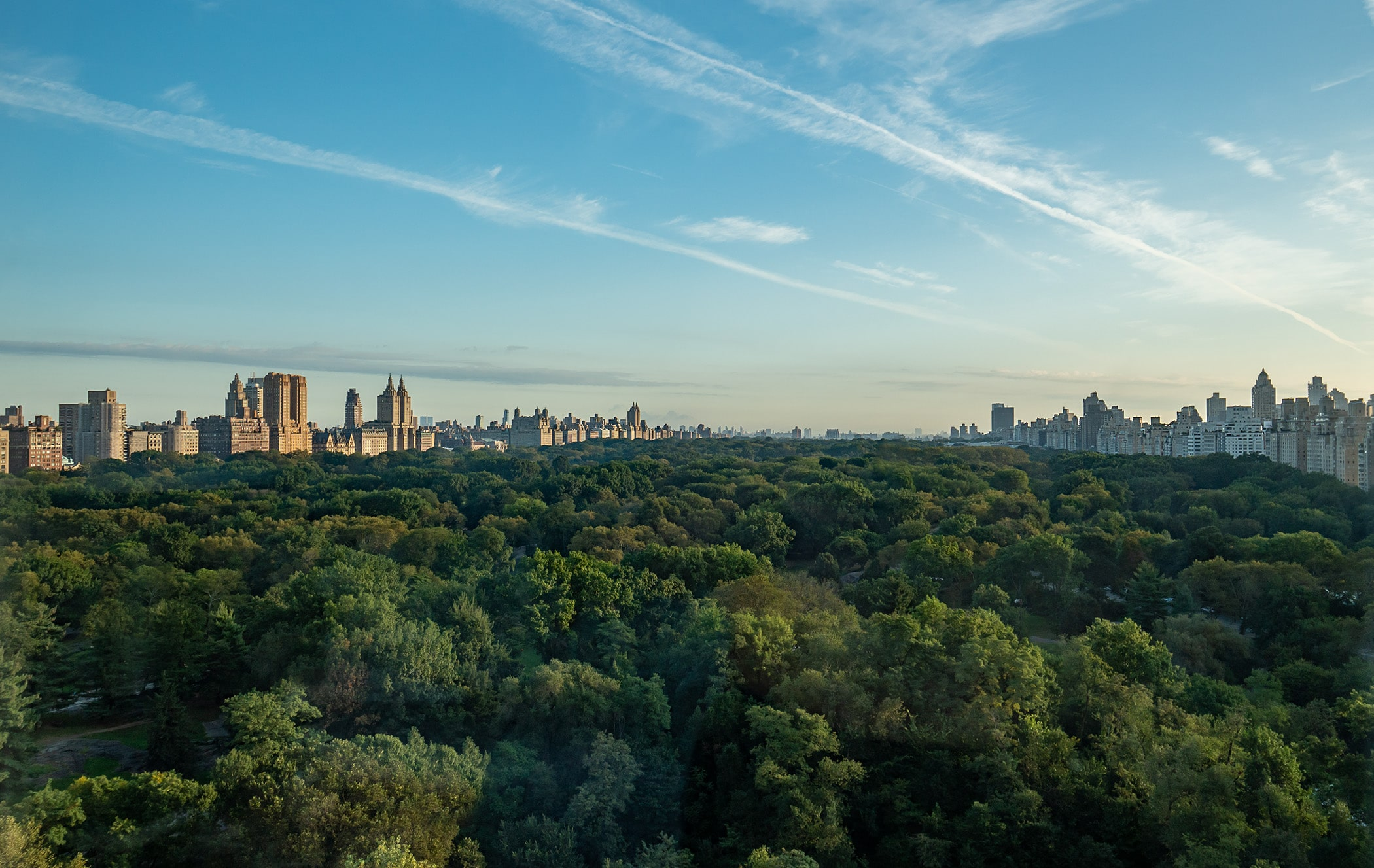 Central Park view from Ritz Carlton New York - 10AM