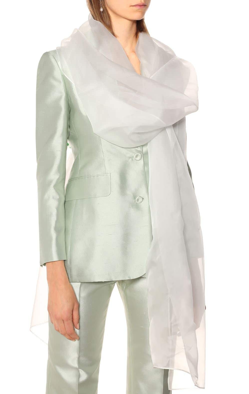 MAX MARA Charles silk scarf