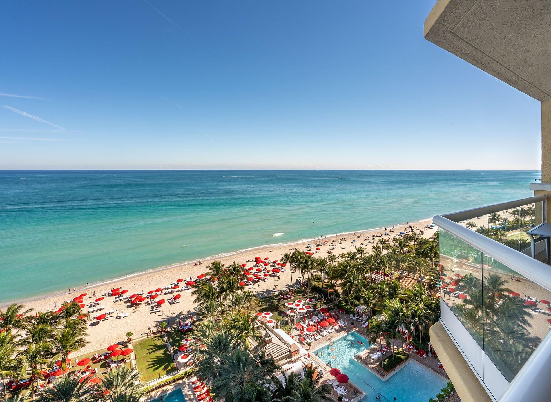 Acqualina Miami one bedroom suite view