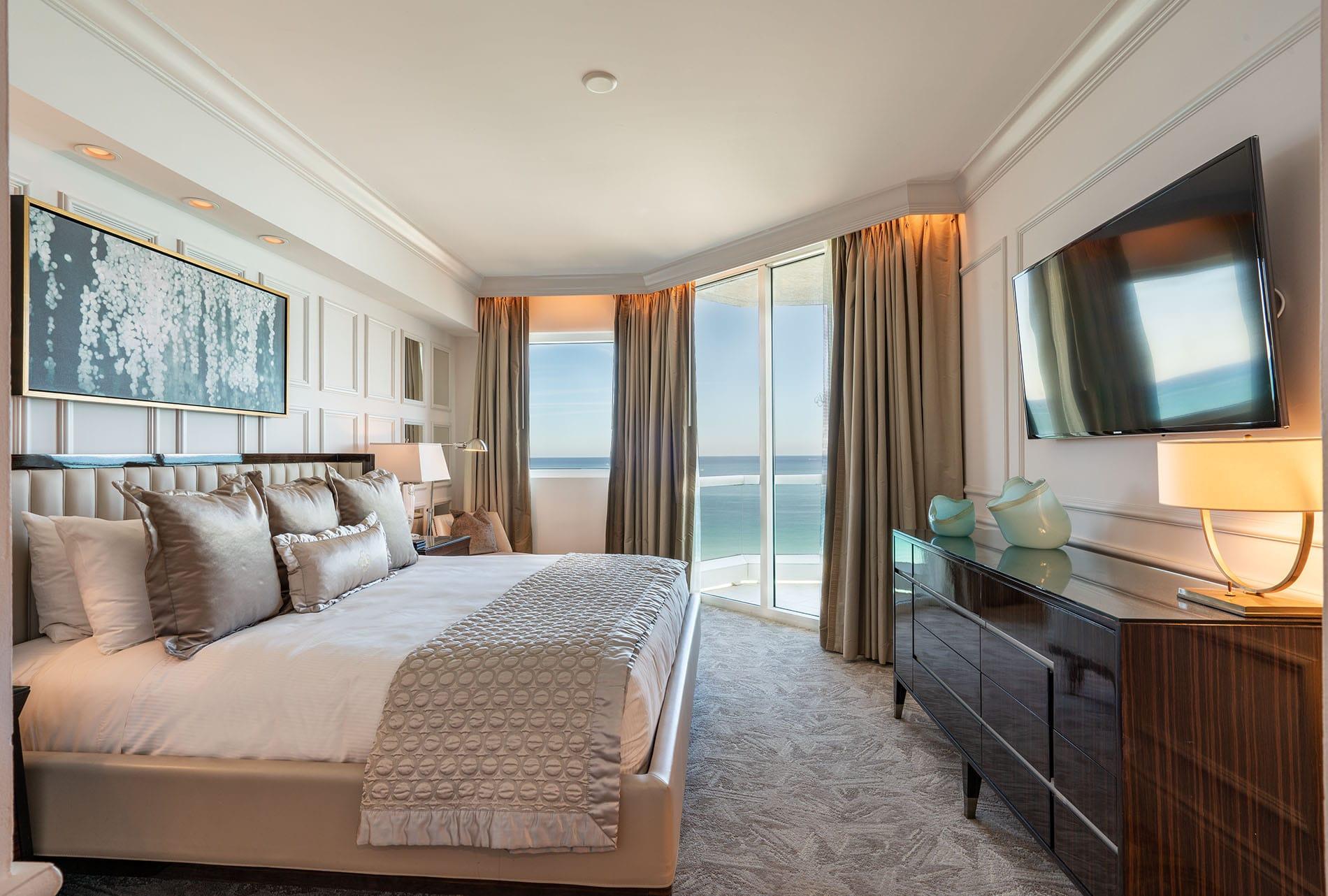 Acqualina Miami bedroom
