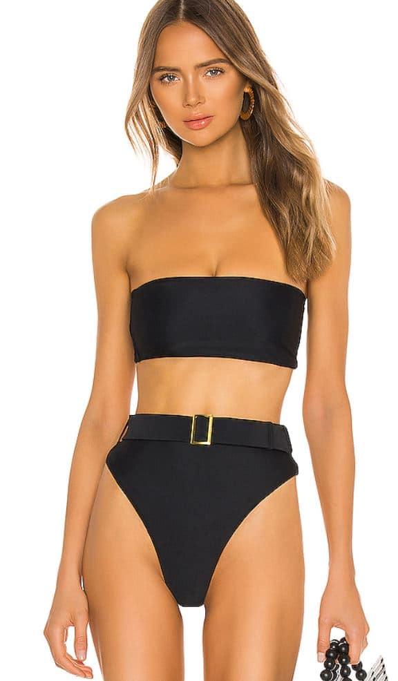 Sexy belted bikini