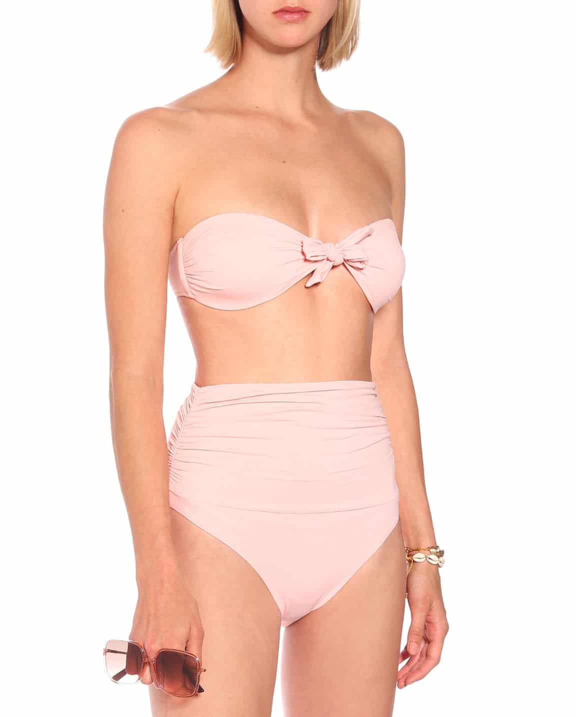Vintage pink bikini