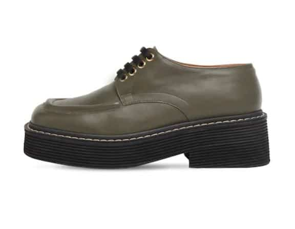 Khaki loafers
