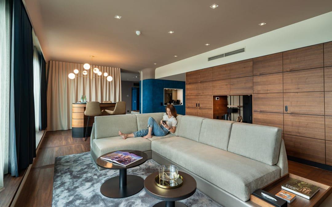 Le Méridien Hamburg review – €1.200 Prestige Lake Suite
