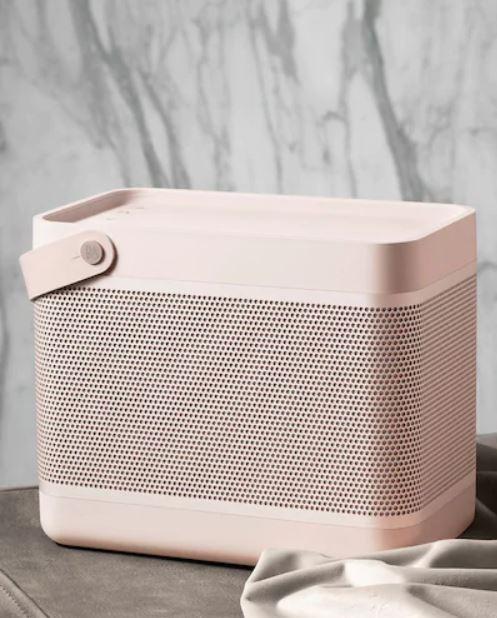 Bang & Olufsen pink speaker
