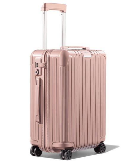 Rimowa pink cabin suitcase