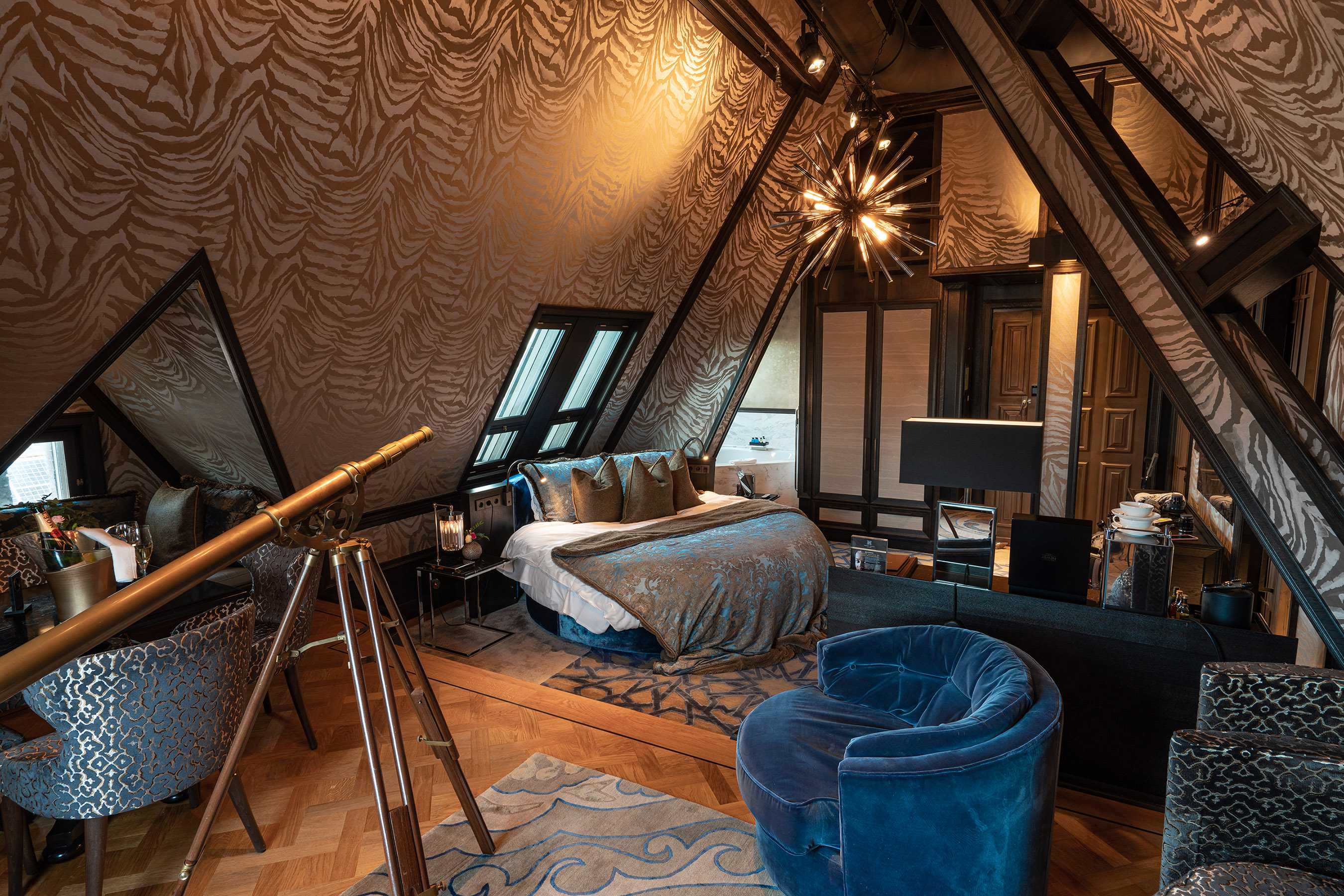 Twentyseven hotel Amsterdam rooftop stage suite 2