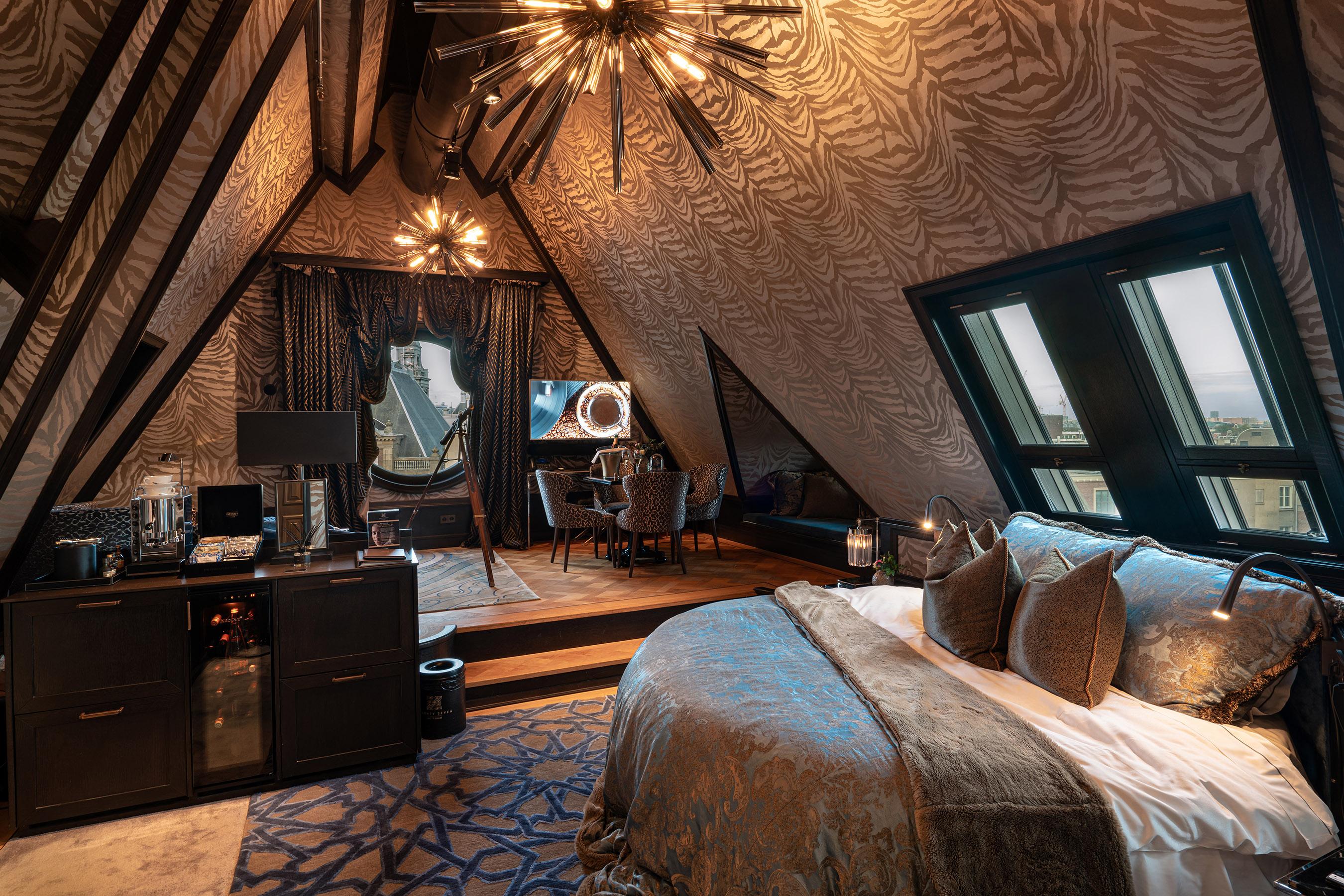 Twentyseven hotel Amsterdam rooftop stage suite