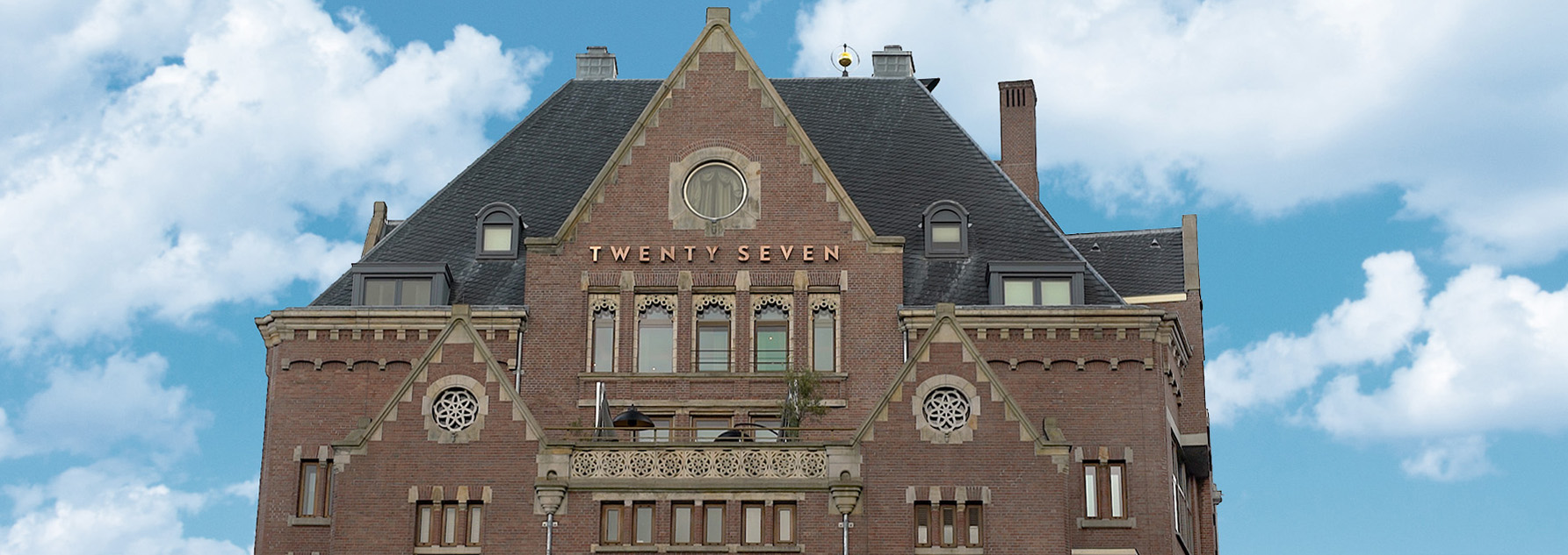 Hotel Twentyseven Amsterdam outside